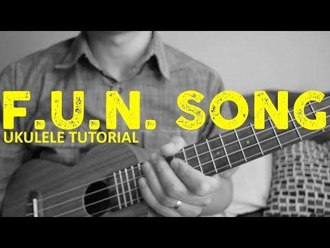 Spongebob Squarepants - Fun Song EASY Ukulele Tutorial - Chords - How To Play
