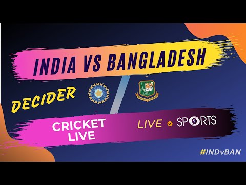 INDIA vs BANGLADESH - 3rd T20 (Decider)| Cricket Live | DD Sports