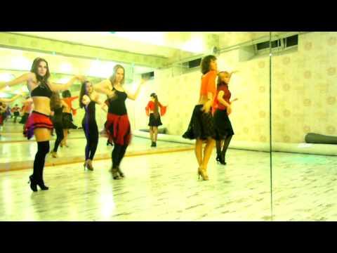 Strip-latina - Amor Gitano by Beyonce&Alejandro Fernandez, choreo by Jane Kornienko, group&me