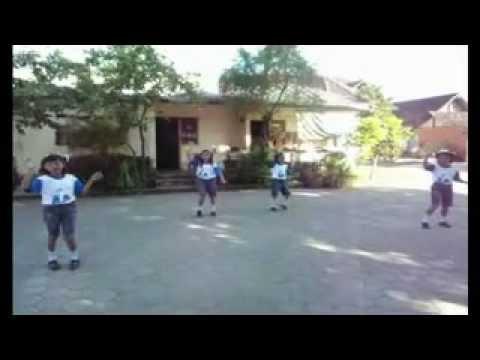 Senam Ceria Anak Indonesia Juara 1 Tingkat Provinsi video