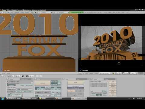 Crear Intro En Blender Como La De 20th Century Fox video