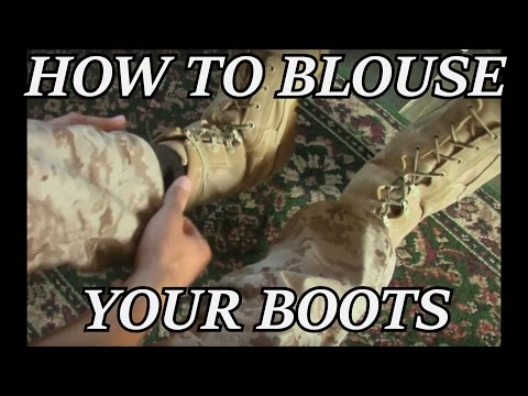 How to Blouse Your Boots