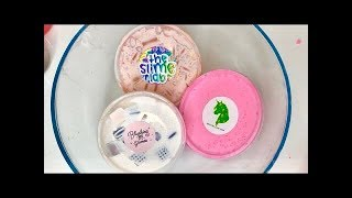 MIXING MY TOP 5 SLIME SHOPS!