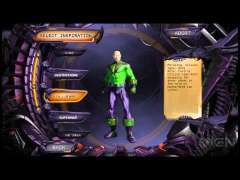 DC Universe Online: Create Your Legend Trailer