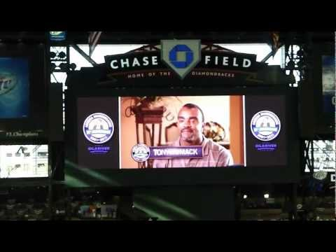 Diamondbacks vs. Padres (9/10/11; 2001 World Series Championship Reunion Game: Video 3 of 6)