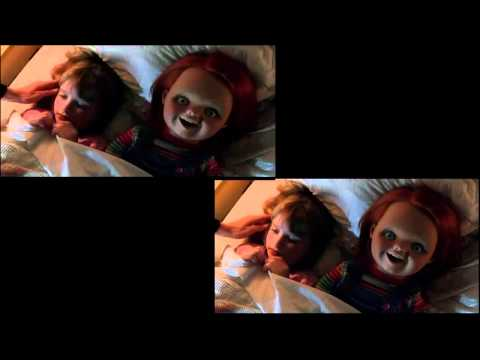 Curse of Chucky Trailer 2 (Red Band) vs Trailer1 (COMPARISON)