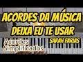 Deixa eu te usar teclado - Sarah Farias vídeo aula teclado parte 2