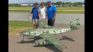 Giant 1/4 Scale Messerschmitt Me-262 (Airworld) Flight -- Top Gun Invitational 2018