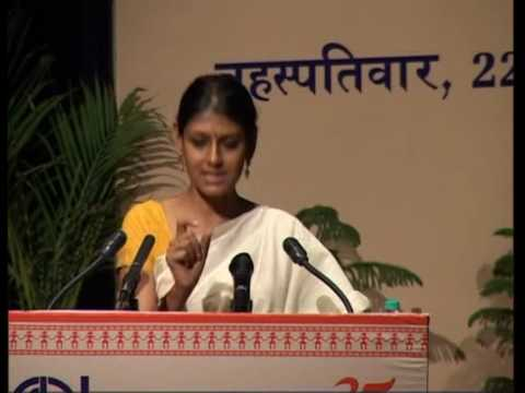 IGNOU Silver Jubilee Lecture by Ms. Nandita Das (2010) on Identity and the Notion of the Other