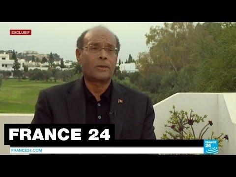 EXCLUSIF - Entretien avec Moncef Marzouki candidat à l'élection présidentielle en TUNIS