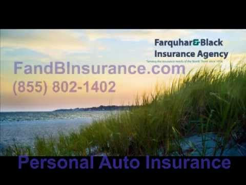 Farquhar & Black Insurance | Personal Auto Insurance | MA