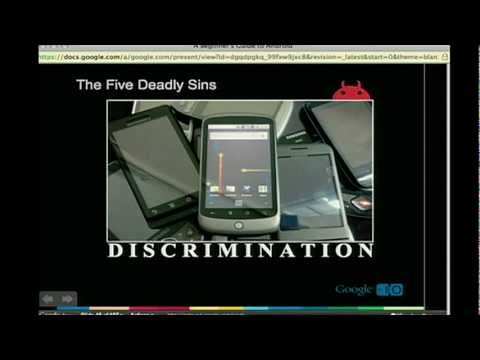 Google I/O 2010 - A beginner's guide to Android