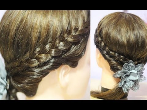 Easy Back To School Hairstyle For Shoulder Length Hair