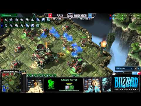 Flash vs Innovation - Game 3 - Semifinals - MLG Dallas 2013
