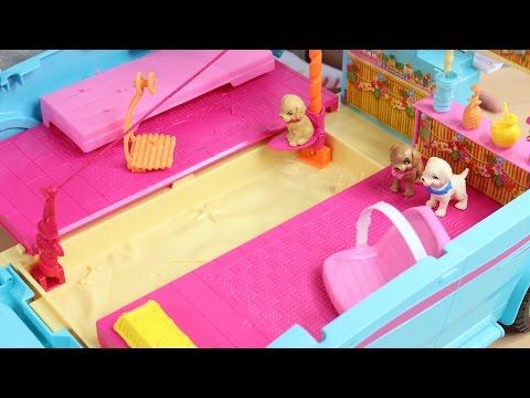 Barbie I Siostry Na Tropie Piesków - Wyruszmy Na Wakacje Z Barbie, Pieskami I Wspaniałym Kamperem!