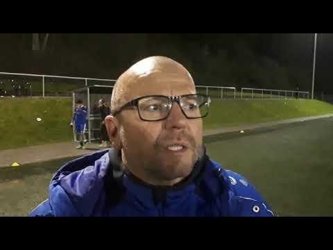 Mehrings Trainer Frank Meeth nach dem 0:2 in Salmrohr