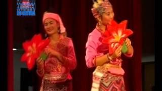 lao dance ຟ້ອນ ດອກງີ້ວບານ ແຂວງບໍ່ແກ້ວ