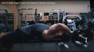 Re: Jeff Nippard - How To Build Huge Triceps with Optimal Training Technique