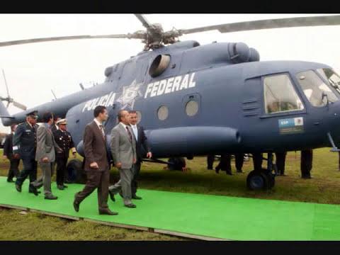 HELICOPTEROS DE LA  POLICIA FEDERAL