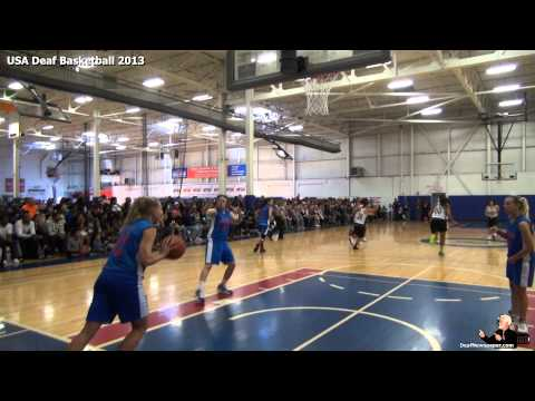 2013 USA Deaf Basketball #9
