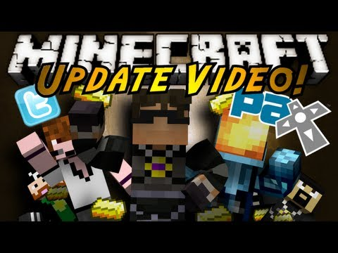 Minecraft: UPDATES! (Pax East, Public Servers, IRL Stuff)