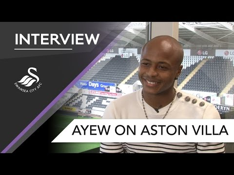 Swans TV - Preview: Andre Ayew on Villa