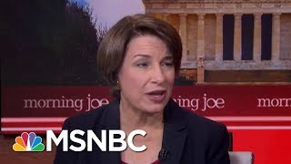 Senator Amy Klobuchar: We Want To Hear From Mark Zuckerberg | Morning Joe | MSNBC