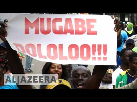 Zimbabwe crisis: Tens of thousands demand 'Mugabe must go'