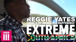 Reggie visits the 'Church of Incredible Happenings' - Reggie Yates's Extreme South Africa - BBC