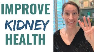 How to Improve Your Kidney Function & Reduce Kidney Stones Naturally