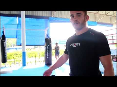 Strength & Conditioning for MMA - Battle Ropes & Kettle Bell workout routine with Anthony Leone Image 1