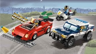 LEGO 60007 High Speed Chase City Police (Instruction booklet)