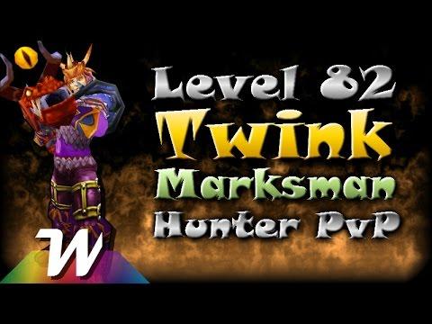 82 Marksmanship Hunter Twink Pvp | Mop 5.4.8 video