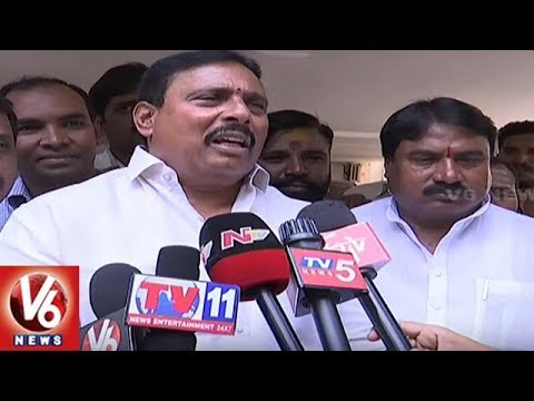 Danam Nagender Condemns Congress Joining Rumour | Hyderabad | V6 News