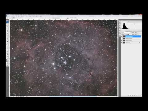 Astrofotografie Tutorial Teil 4: Komplette Bildbearbeitung in Photoshop