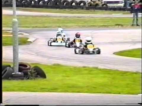 Comer Cadet Rye House 1994. Niki Richardson (GP) Mike Conway (12), Lewis Hamilton (44) Spencer(1)