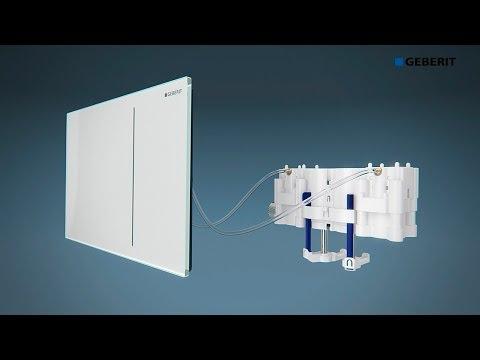 Geberit Sigma70 & Hydraulic Servo Lifter - Functionality