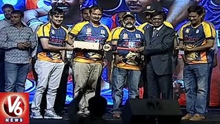 HCA President Vivek Presents 'Token Of Appreciation' To TTL Cricket Team Owners