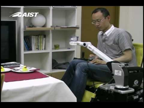 ロボットアームRAPUDA-Robotic Arm for Persons with Upper-limb DisAbilities