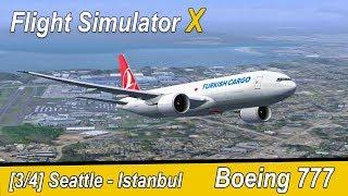 Microsoft Flight Simulator X Teil 982 Boeing Werk - Istanbul | Turkish Cargo Boeing 777 | Liongamer1
