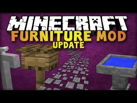 Minecraft - 1.6.2 - Mr. Crayfish's Funiture Mod [Garten Update] - Review