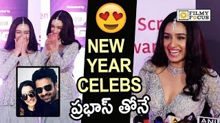 Shraddha Kapoor about New Year Celebrations with Prabhas and Saaho Team in Hyderabad