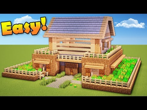 Minecraft: How to Build a Survival House - Wooden House Tutorial