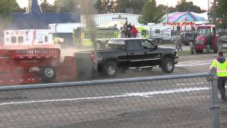 DURAMAX TRUCK PULL WORKSTOCK WILLIAMS CO OHIO