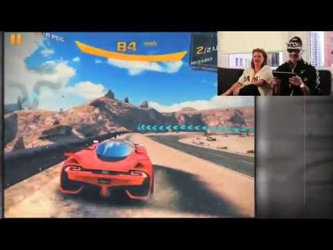Blindfolded Asphalt 8 Racing!