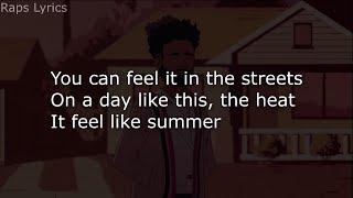 Childish Gambino Feels Like Summer