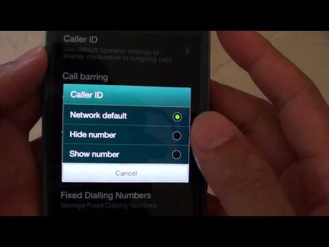 Samsung Galaxy S3: How to Hide/Show Phone Number When Calling