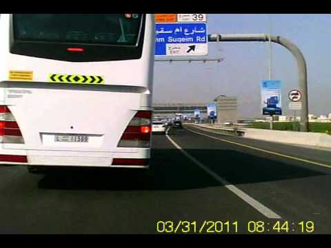 All of them and like them may be the reasons of accidents on Dubai roads.wmv