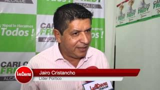 Carlos Fredy Mejía recibió apoyo de Jairo Cristancho para la alcaldía