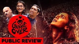 Game Over Public Review | Taapsee Pannu | Anurag Kashyap